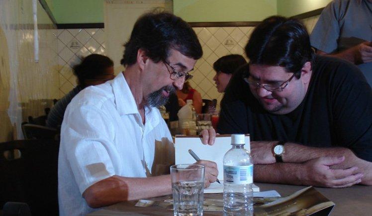 2007-11-23 Lançamento Dias de Cão - Luiz e Paulo Maymone