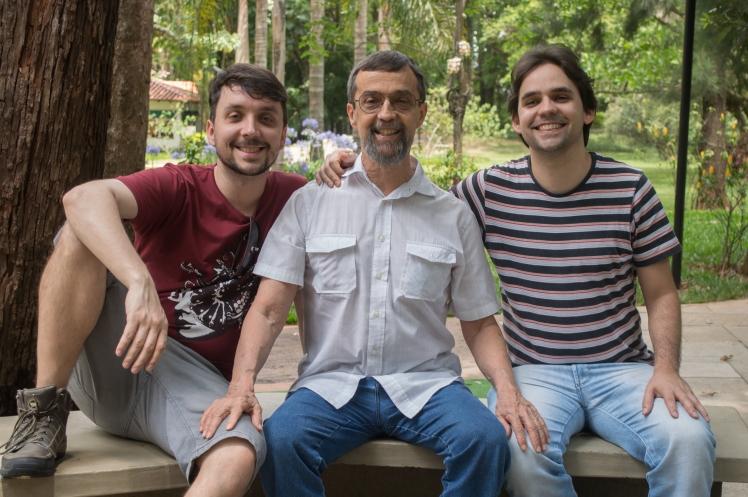 2016-11-27 Daniel, Luiz e Theo