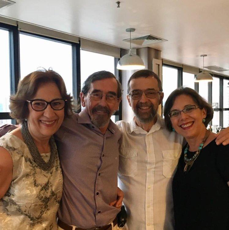 2017-01-07 40 anos Psico - Lurdinha, Maria José e Celso Manço
